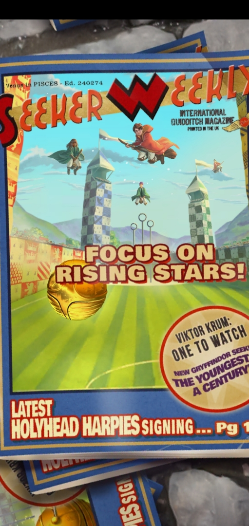 """""""Seeker Weekly"""" focuses on the rising stars of Quidditch in """"Puzzles & Spells""""."""