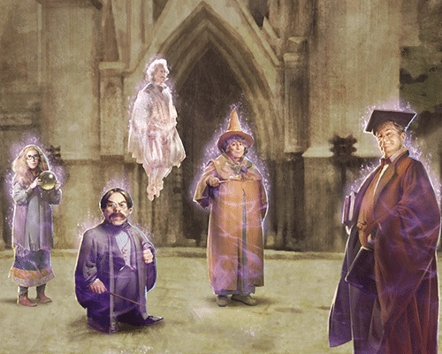"""A graphic is shown for Part 2 of the First Year at Hogwarts Brilliant Event in """"Wizards Unite""""."""