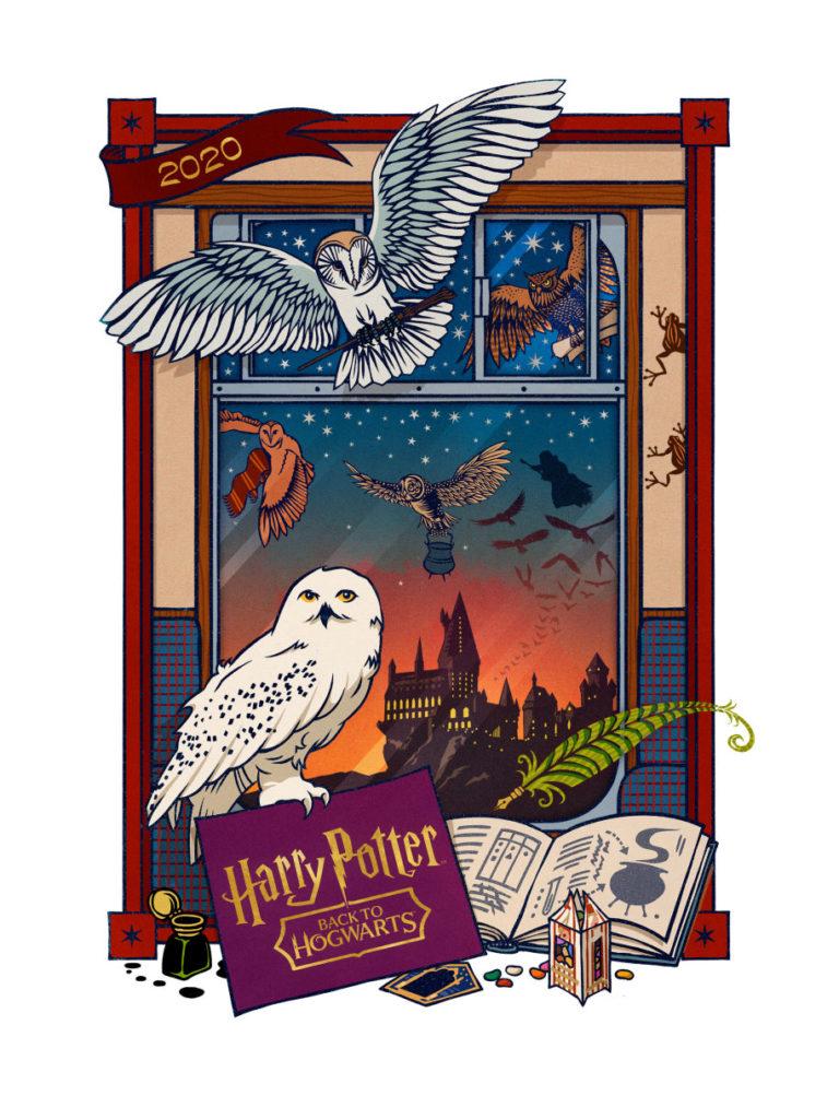 MinaLima Print for Back to Hogwarts 2020