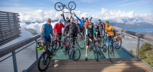 Participants of the Big Mountain Challenge 2019 are featured.