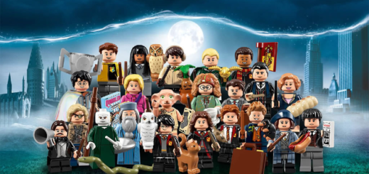 "The ""Harry Potter"" LEGO Minifigures Collection is pictured."