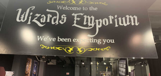 The sign for Wizards Emporium, a new store in Pickering, Ontario, is pictured in a photograph by John Perks.