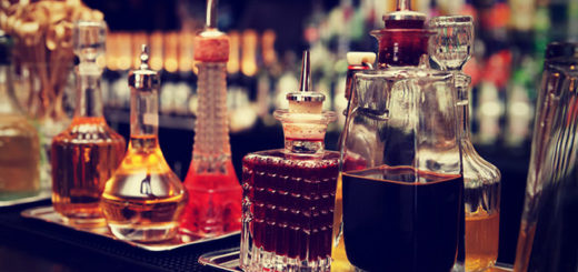 "This is a representation of the cocktail ingredients you could use for ""Harry Potter"" themed drinks"