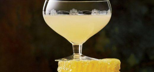 Dumbledore's Lemon Drop and Honey Cocktail