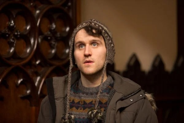 """Harry Melling is pictured in a film still from """"Say Your Prayers""""."""