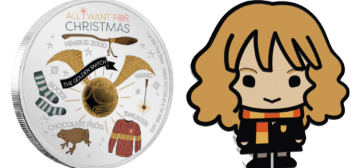 """Harry Potter"" Chibi Coins"