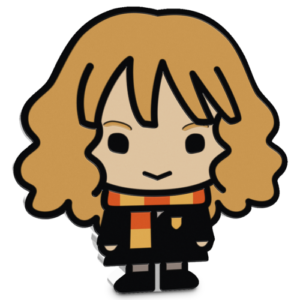 """Harry Potter"" Hermione chibi coin"