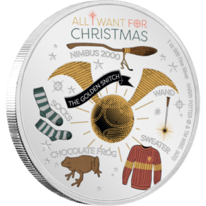 """Harry Potter"" Season's Greetings chibi coin"
