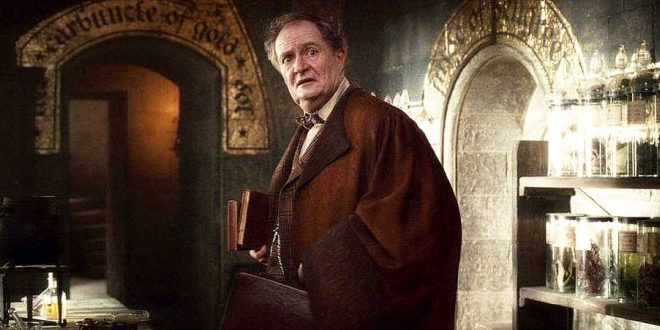 Horace Slughorn is frightened by Harry's question about Horcruxes
