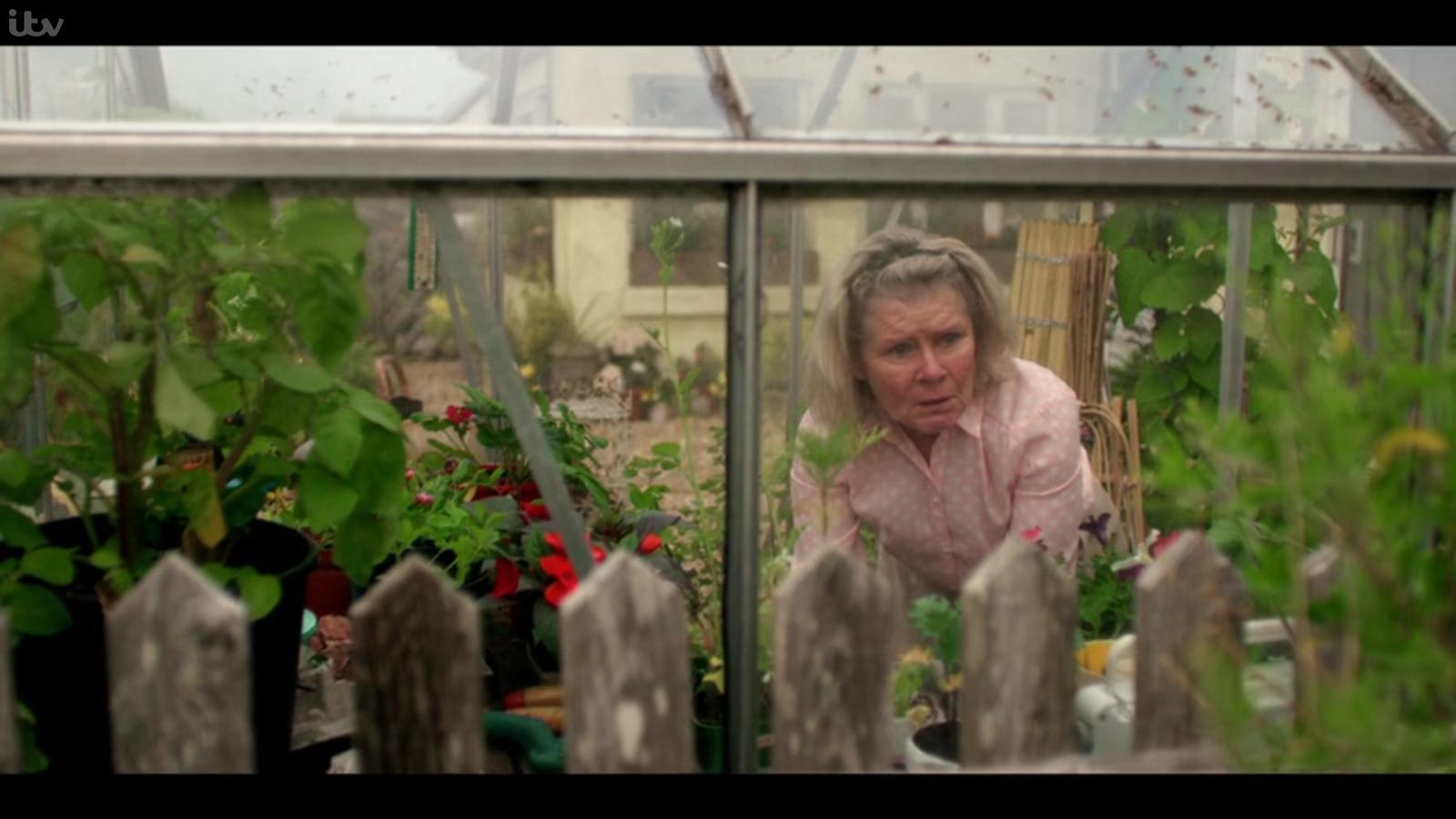 "Imelda Staunton is being Dolores Umbridge levels of nosy in ""Flesh and Blood""."