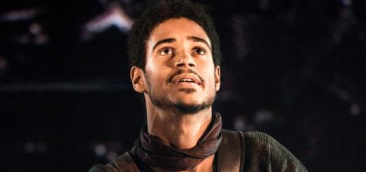 Alfred Enoch stars in Coriolanus.