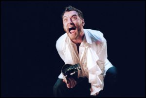 Jude Law is shown portraying Doctor Faustus.
