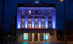 The Old Vic is pictured.
