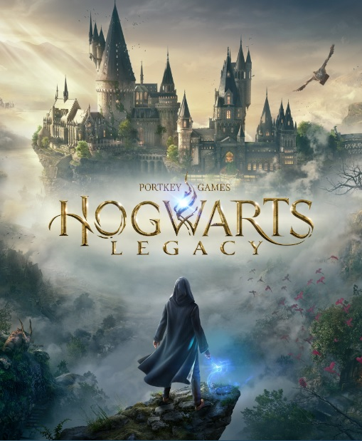 """Pictured is artwork that will appear on the packaging for """"Hogwarts Legacy""""."""