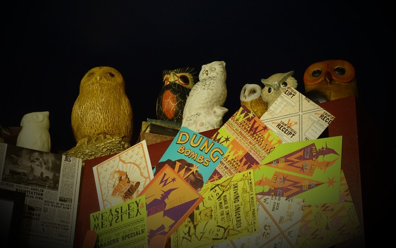 Donate an owl to add to MinaLima's collection.