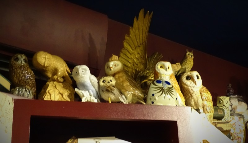 MinaLima's owl collection is impressive.