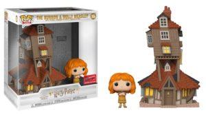 Mrs Weasley with the Burrow Funko Pop!