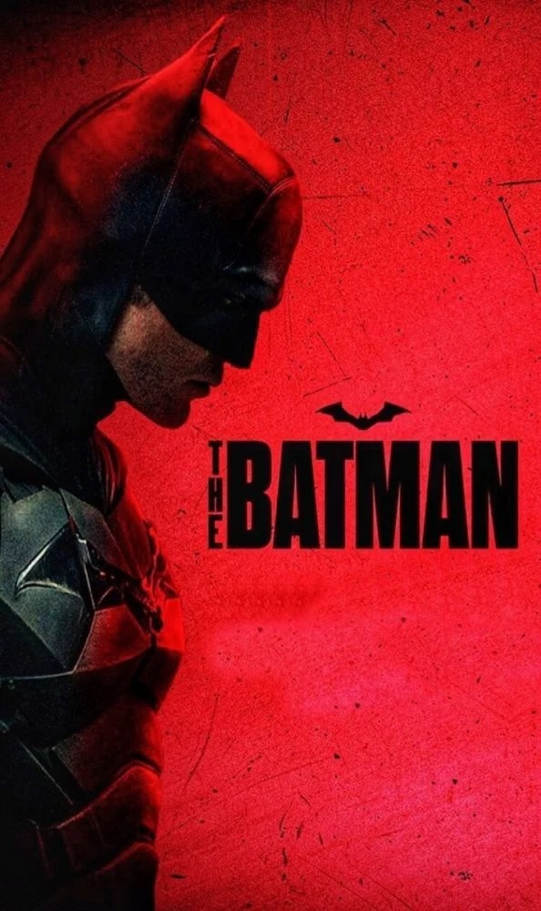 """Pictured is a new film poster for """"The Batman"""", starring Robert Pattinson."""