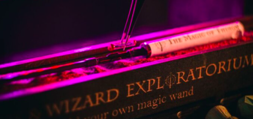 An image showing the Magical Wand Experience at the Wands and Wizards Exploratorium.