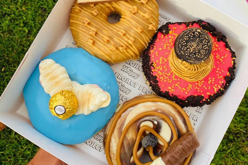 Platform 9 and 4 Quarters doughnuts