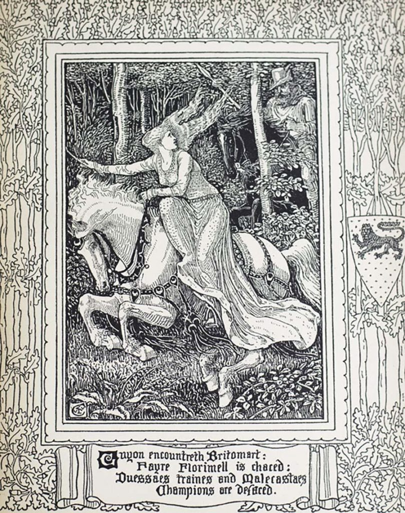 This is a print of the Faerie Queene JKR published on Twitter