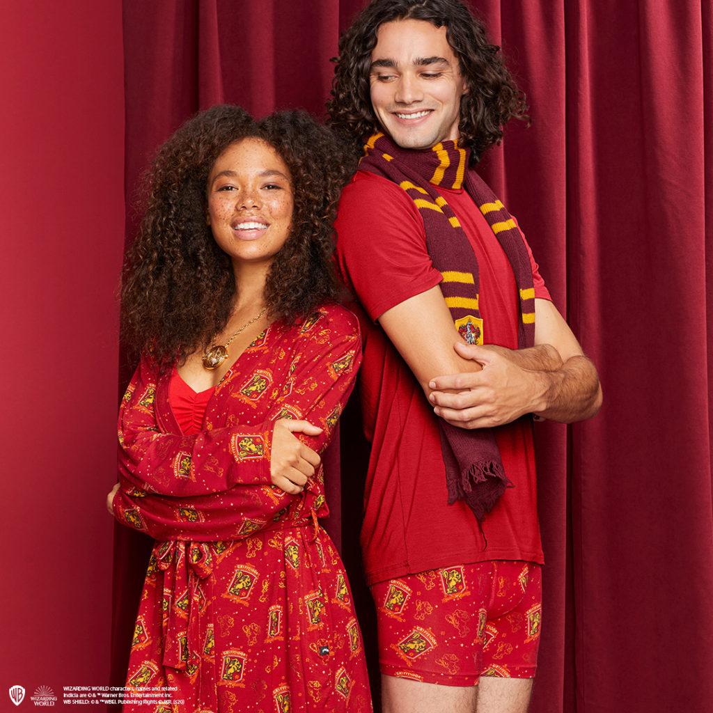 MeUndies Gryffindor loungewear