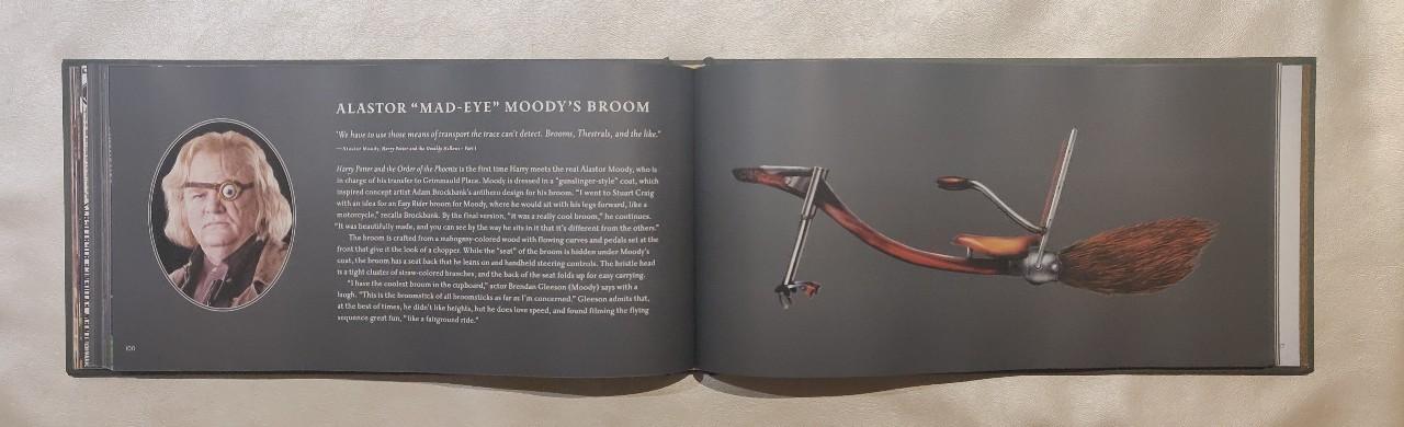 HP Broom Collection Alastor Moody Broom