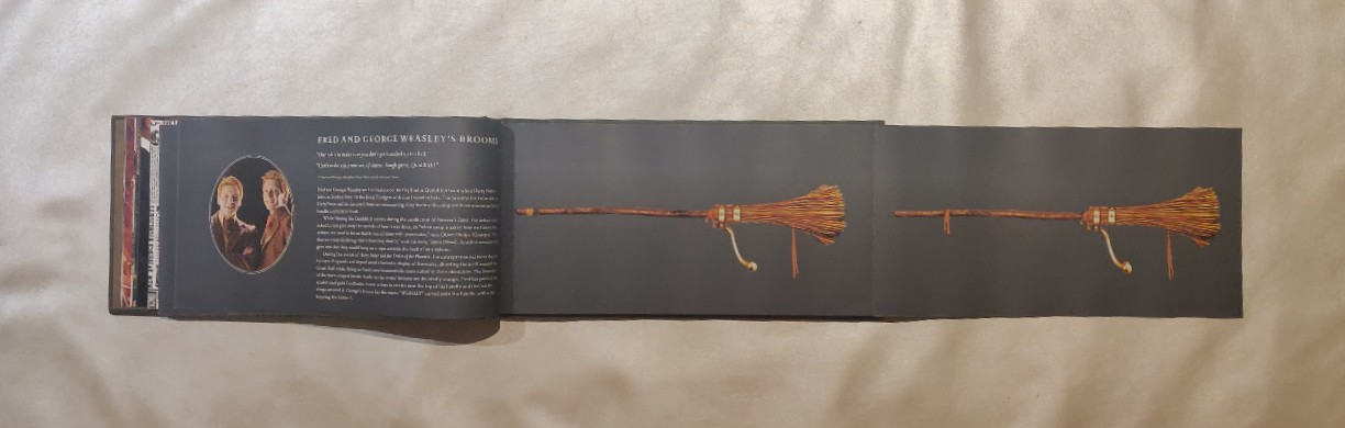 HP Broom Collection Foldout