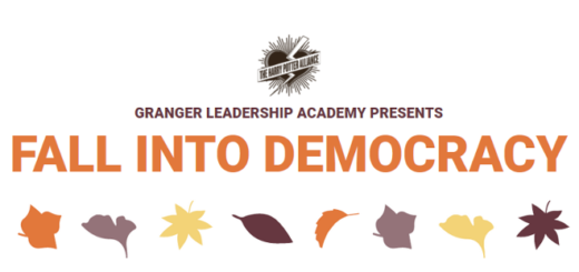 A featured image for the Harry Potter Alliance's Fall Into Democracy conference is shown.