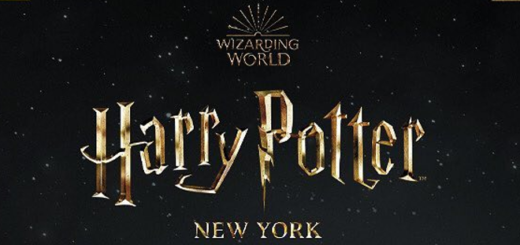 The logo for Harry Potter New York, a new merchandise store, is shown as a featured image.