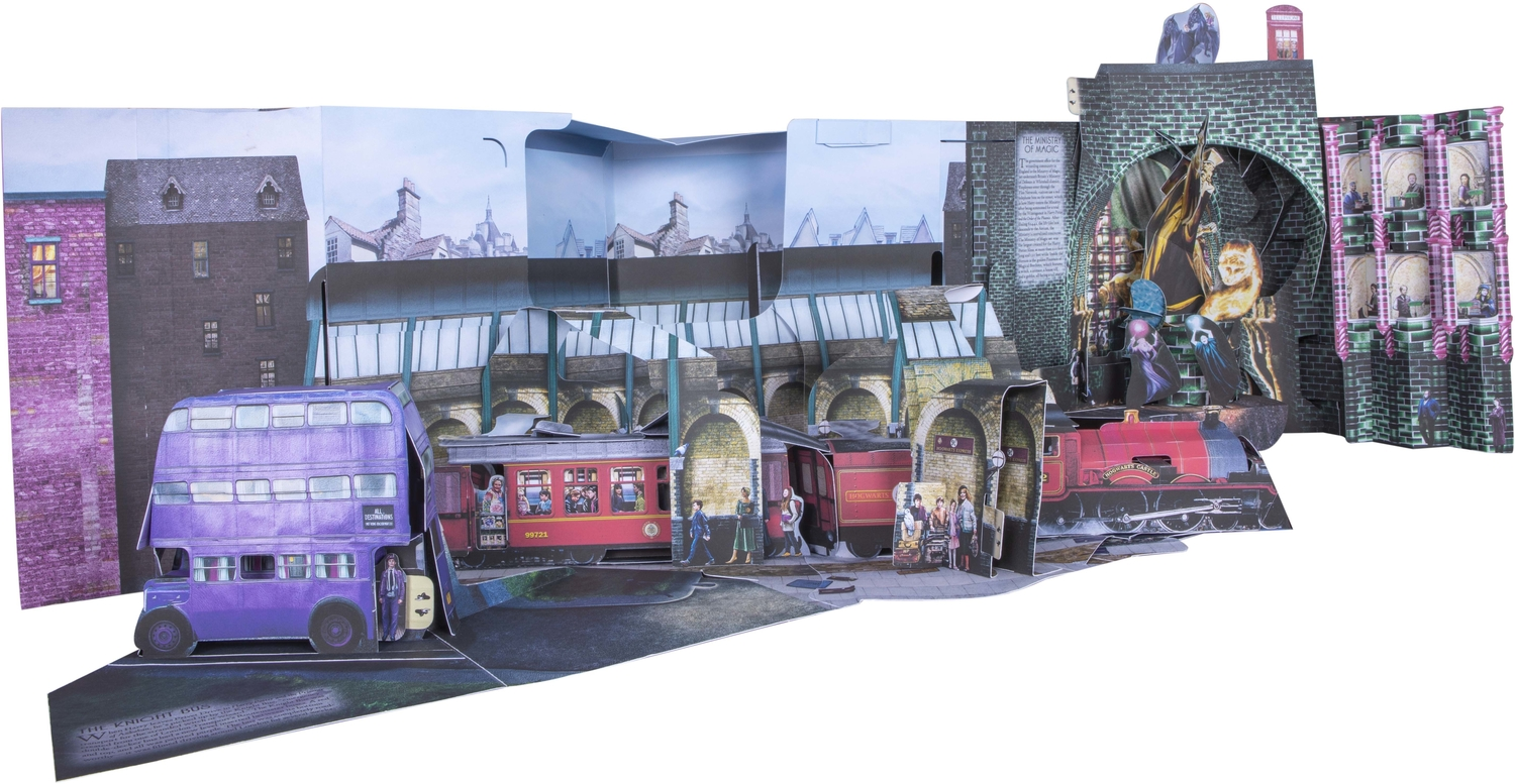 Harry Potter Pop-Up Guide to Diagon Alley and Beyond_Side 2