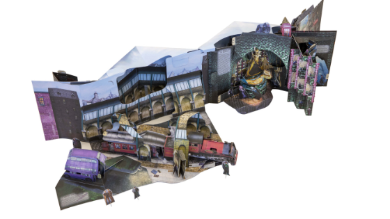 Harry Potter Pop-up Guide to Diagon Alley and Beyond featured image