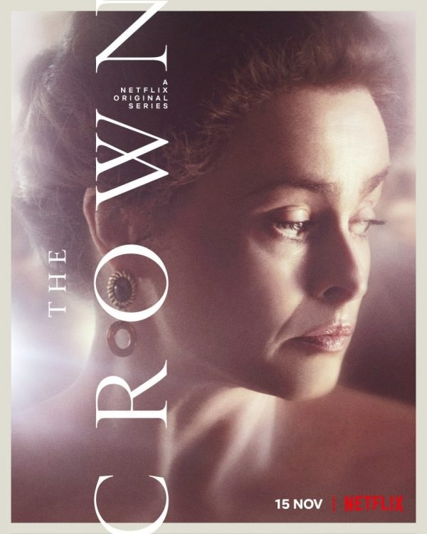 """Helena Bonham Carter is featured on a character poster for Season 4 of """"The Crown""""."""