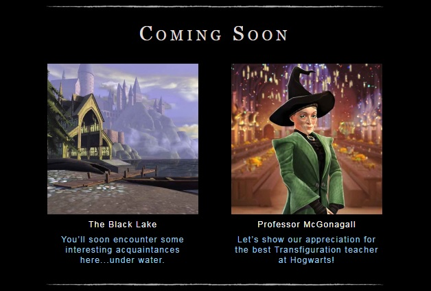 """Hogwarts Mystery"" teases a return to the Black Lake and a celebration of Minerva McGonagall."