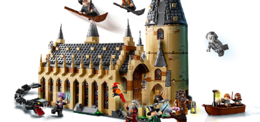 The Great Hall LEGO set is featured.