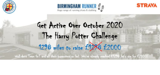 The Get Active Over October campaign banner is pictured.