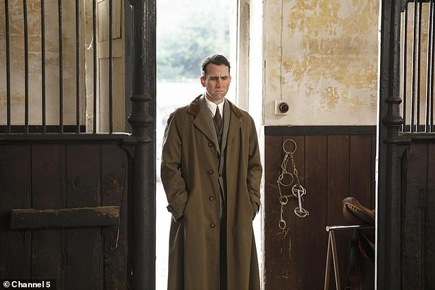 """Matthew Lewis looks forlorn in a still from """"All Creatures Great and Small""""."""