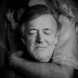 """Stephen Fry is pictured in an image from the """"Take a Moment"""" campaign."""