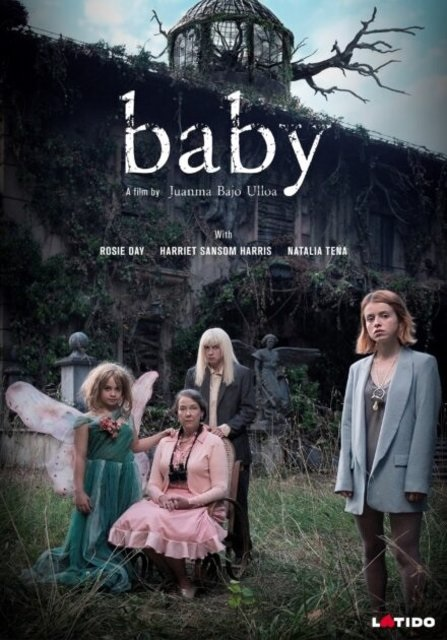 "Pictured is a movie poster from Natalia Tena's new film ""Baby""."