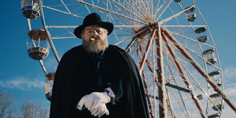 """Robbie Coltrane is pictured as Orson Welles in """"Urban Myths""""."""