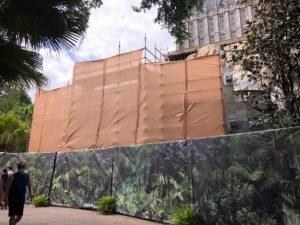 Universal Orlando Locker Construction.