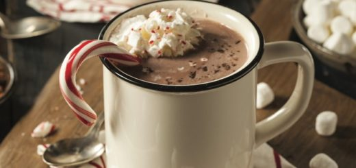 Unofficial Hogwarts Holiday hot chocolate