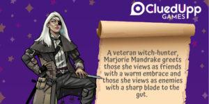 CluedUpp Games character
