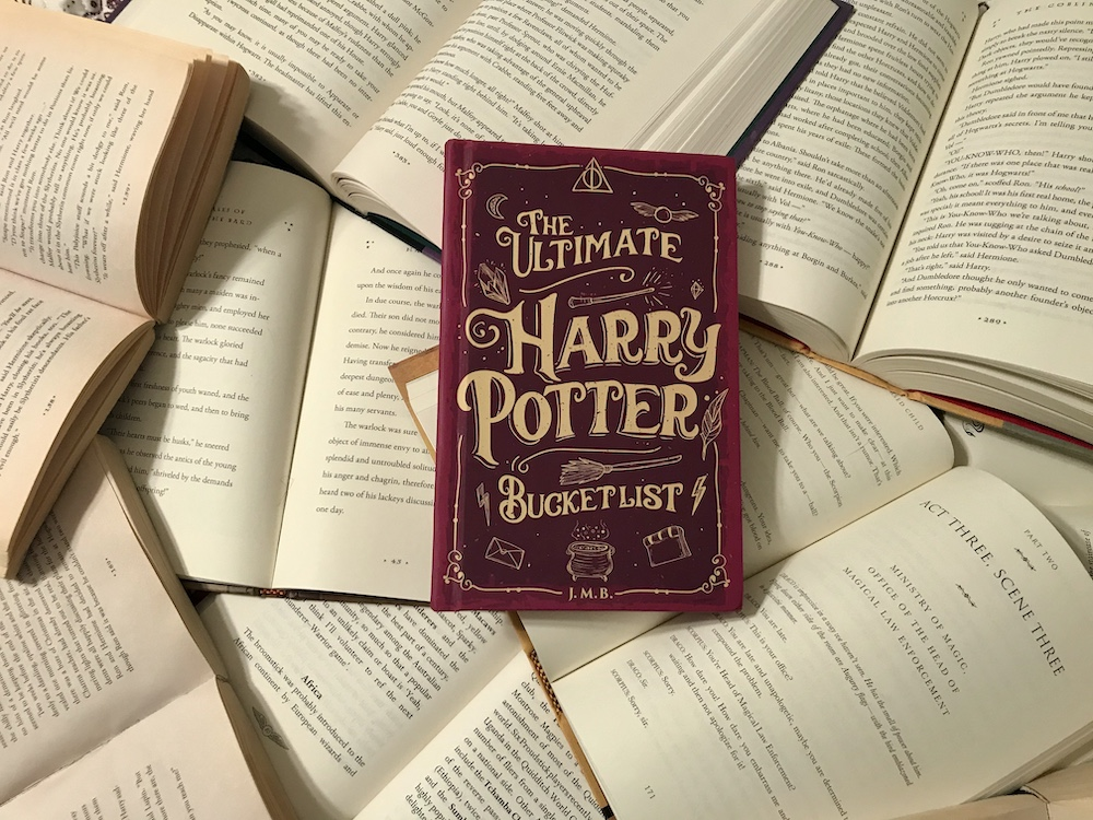 The Ultimate Harry Potter Bucket List Journal cover