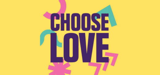 A banner for Choose Love, from Help Refugees, is shown.