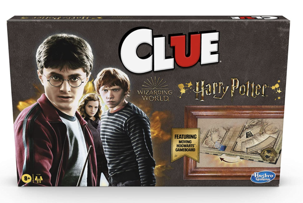 """This is a game of """"Harry Potter"""" Clue"""