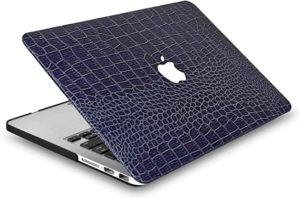 Crocodile skin laptop case