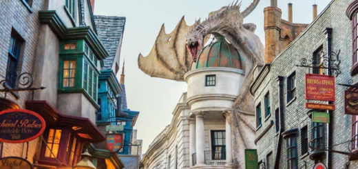 Diagon Alley at WWHP