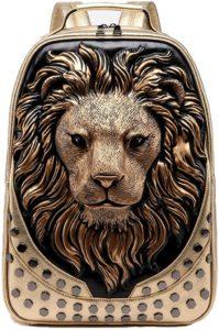 Golden lion backpack