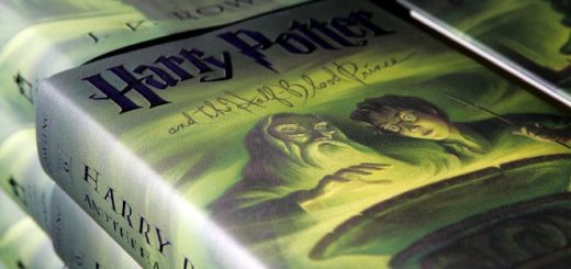 """Harry Potter and the Half Blood Prince"" books."